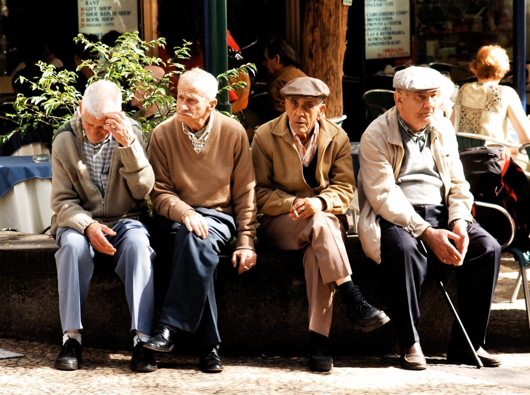 elders seated